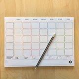 Weekplanner notitieblok_