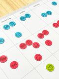 Weekplanner gezin detail
